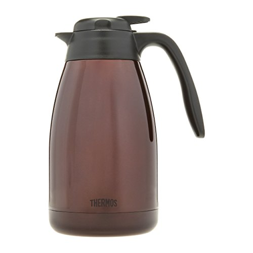 Thermos 51 Ounce Brown Vacuum Insulated Stainless Steel Carafe