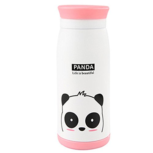 DICOCO Stainless Steel 500ml Cartoon Animals Thermos Bottle Warmer Water Cup