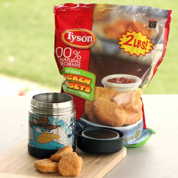 Chicken Nuggets Thermos Lunch Ideas