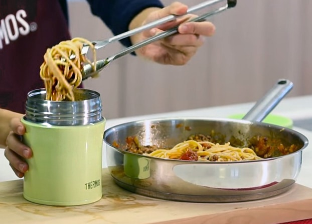 Pasta in thermos lunch ideas