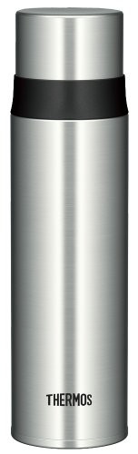 Thermos Stainless Slim Bottle 0.5L Stainless Black (FFM-500 SBK)